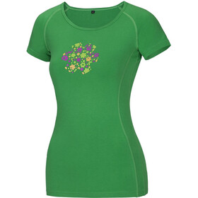 Ocun Bamboo Meadow Shortsleeve Shirt Women green